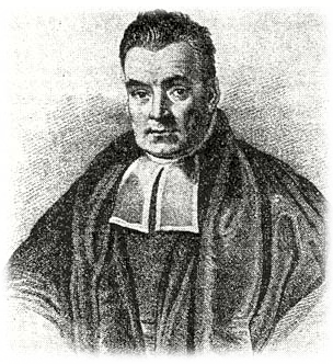 portrait of Reverend Thomas Bayes