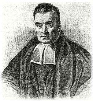 portrait of Reverend Thomas Bayes